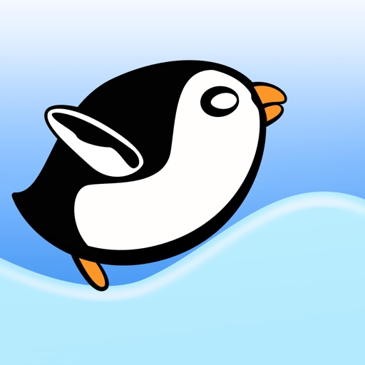 Crazy Penguin Avalanche Racer Pro - amazing downhill racing game icon