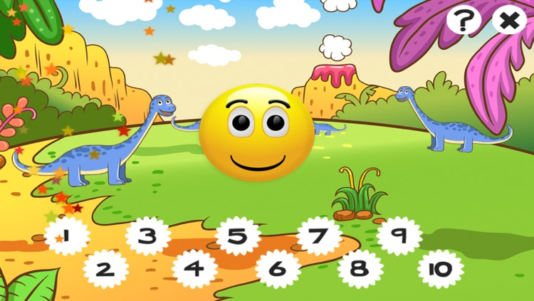 A Dinosaurs Game for Children: Learn about dinos for kindergarten and pre-school screenshot-3
