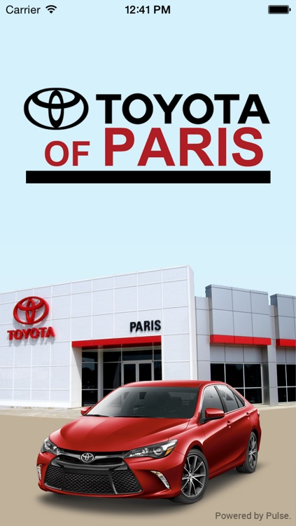 Toyota Of Paris >> Toyota Of Paris By Pulse Auto Dealer App Inc