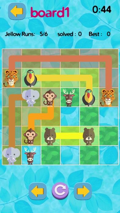 ジャングルジャムサファリ戦略ゲーム - 無料ロジックテストのおすすめ画像4