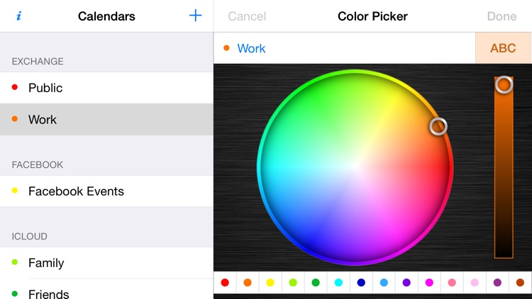 Calendar Color Picker screenshot-3