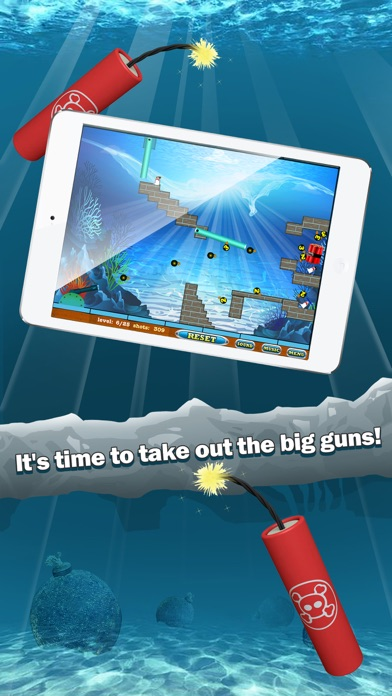 Cannon Bomb Fish Battle Screenshot on iOS