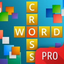 Crossword PRO - classic word puzzle game. For lovers of games scramble, hangman and boggle