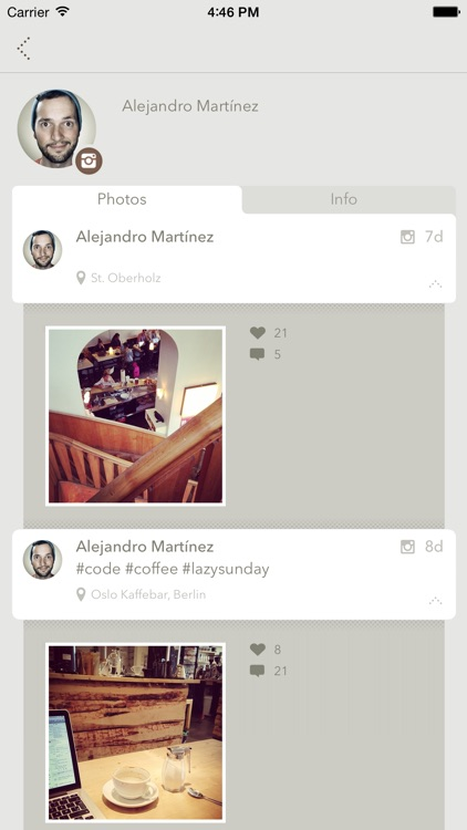 Peopls – Find your friends on Twitter, Instagram, Flickr, Tumblr and others screenshot-3