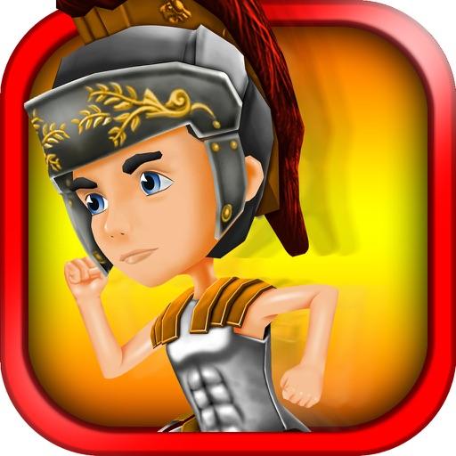3D Roman Gladiator Run Impossible Infinite Runner Adventure Game FREE