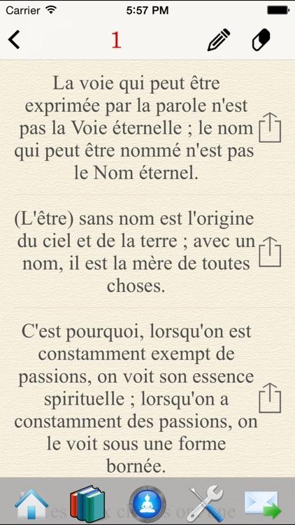 Tao Te Ching - Lao Tzu In French