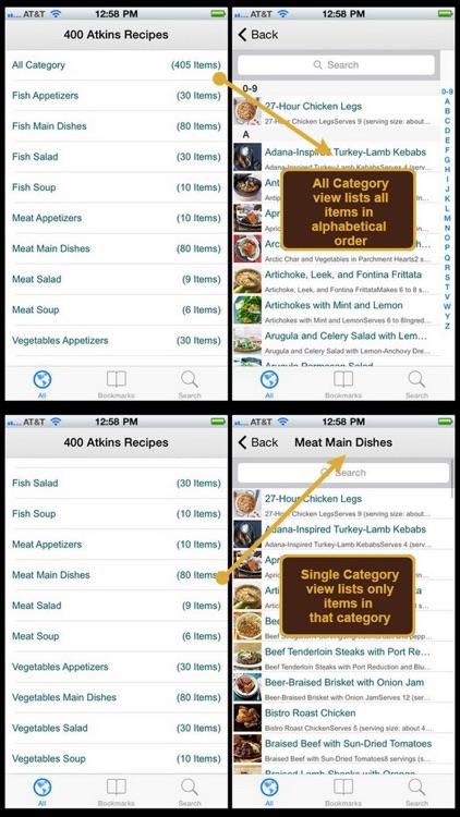 400 Atkins Recipes