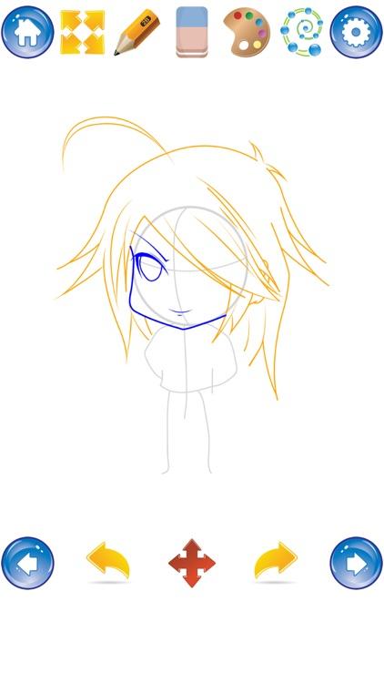 Learn to Draw Chibi screenshot-3