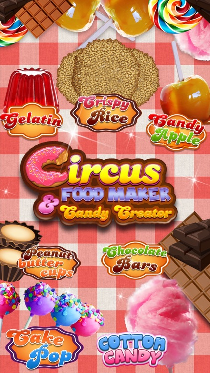 A Circus Food Stand Candy Creator Pro Kids Maker Game By Hotel