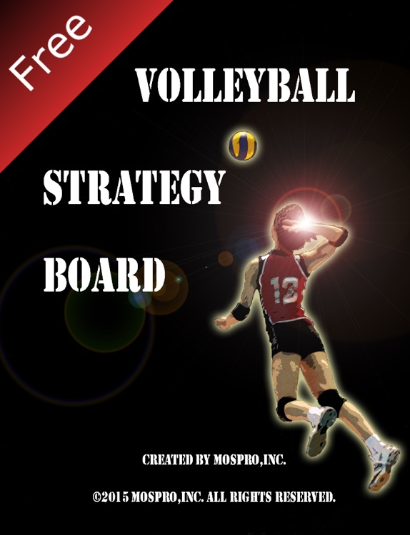 Volleyball strategy board free version
