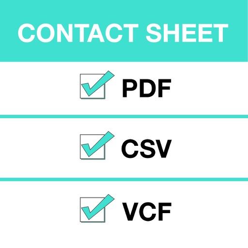 Contact Sheet