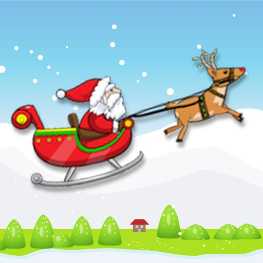 Santa's Sled Race: Free Edition icon