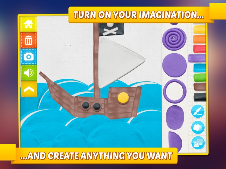 Imagination Box - creative fun with play dough colors, shapes, numbers and letters screenshot-1