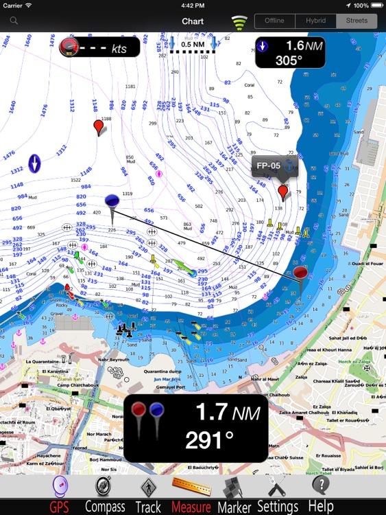 Mediterranean SE GPS Chart Pro