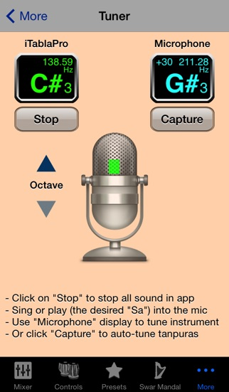 iTablaPro - Tabla Tanpura Player app image