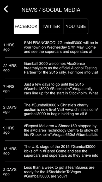 Gumball 3000: Stockholm to Vegas Screenshot