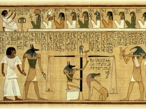 エジプトのセネト (古代エジプトのゲーム)神秘的な来世への旅のおすすめ画像4