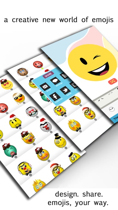 Emoji Maker - Make Your Own Emoticon Avatar Facesのおすすめ画像2