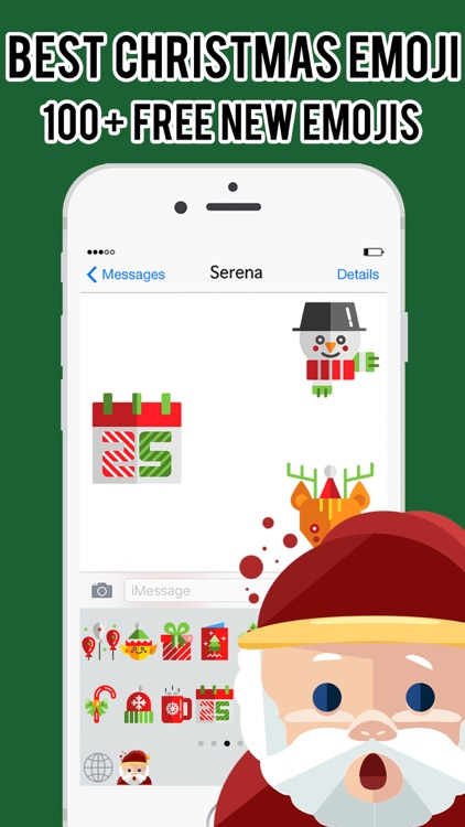 Christmas Emojis Stickers Messenger Keyboard Pro