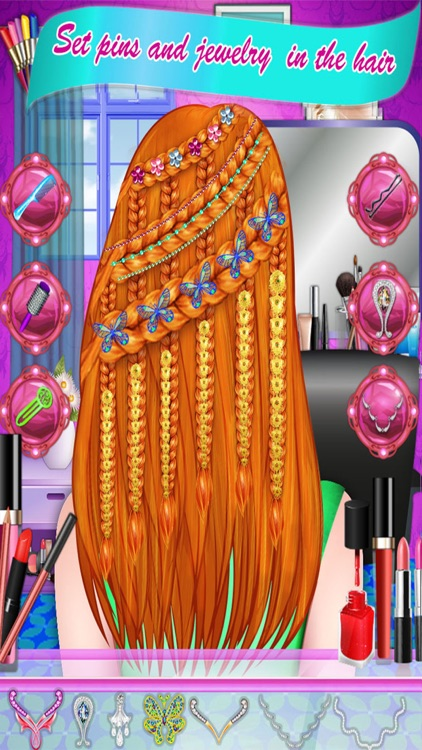 Prom Queen Braided Hairstyles screenshot-3