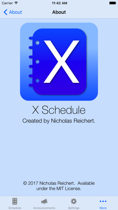 X Schedule - Daily Order screenshot four