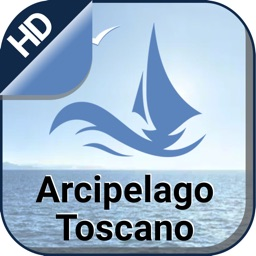 Archipelago Tuscan offline nautical fishing charts