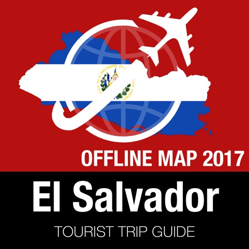 El Salvador Tourist Guide + Offline Map