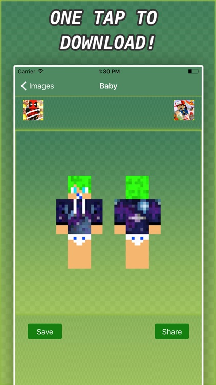 New BABY SKINS FREE For Minecraft PE Pocket & PC screenshot-4