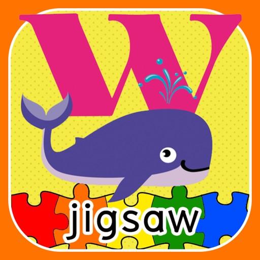 ABC Animal Puzzle Jigsaw-Kid English Learning Free
