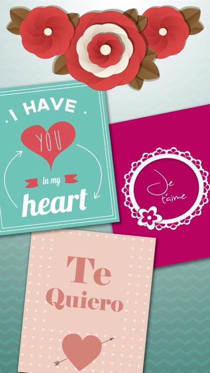 I Love You cute romantic love messages - Pro screenshot-3