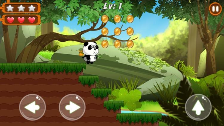 Panda Run - Jungle Adventure screenshot-4