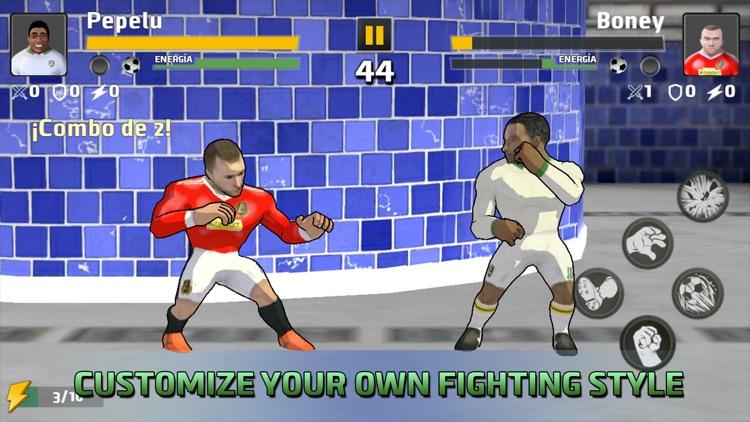 Soccer Hero Free Fighting Game screenshot-3