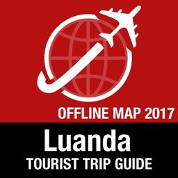Luanda Tourist Guide + Offline Map