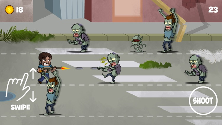 Zombies Run the Streets