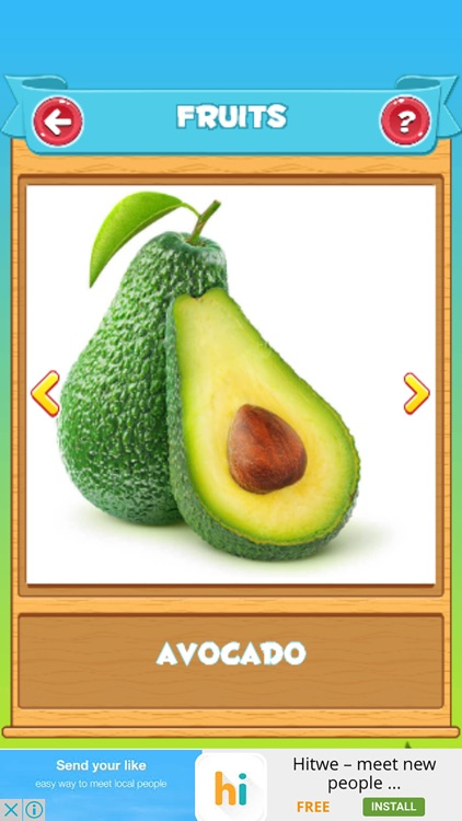 Learn Vegetables and Fruits screenshot-1