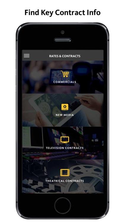 SAG-AFTRA Member App screenshot-4