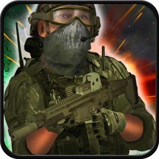 современное Swat Снайпер Стрельба 3d