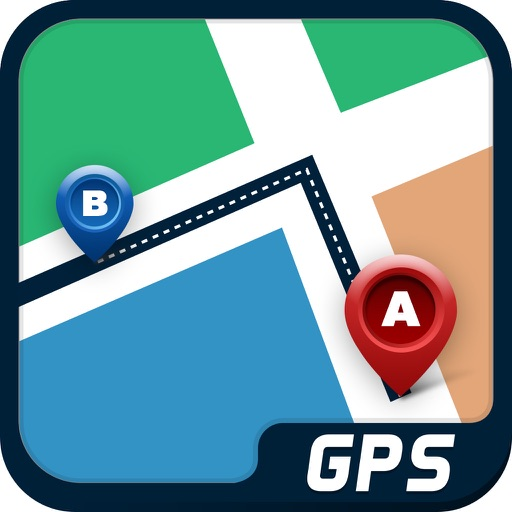 GPS Travel Route Finder