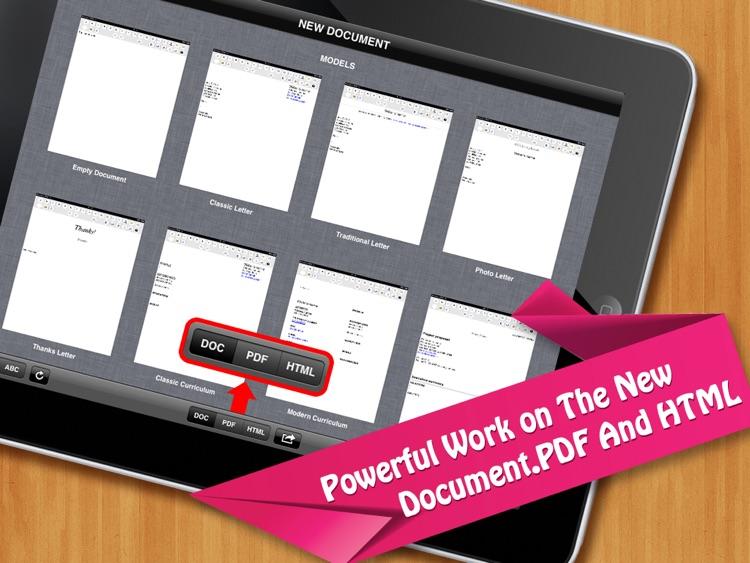 Office Docs -  for MS Word editon screenshot-3