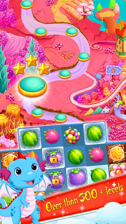 Fruit Garden Mania - Match 3 screenshot-0