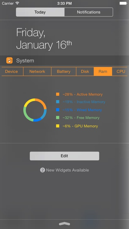 SysInfo Pro - System Stats and Information Widgets
