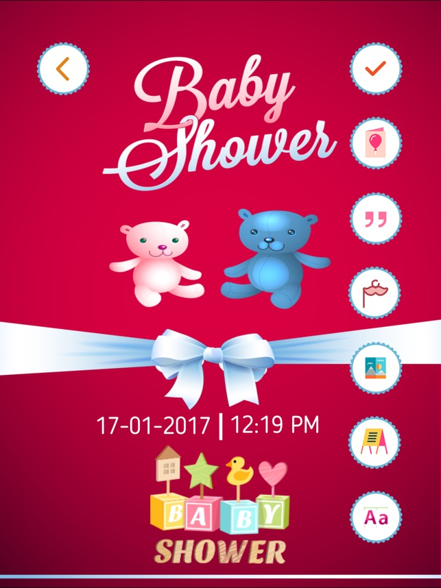 Baby Shower Invitation Cards Maker Hd On The App Store