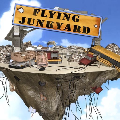 Flying Truck Junkyard Parking