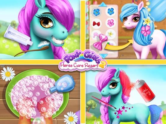 Pony Girls Horse Care Resort 2 - Style & Dress Up screenshot 10