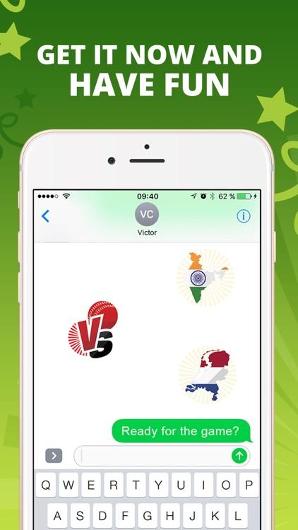 CricketMoji - Cricket stickers screenshot-4