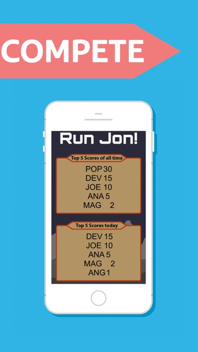 Run Jon! screenshot three