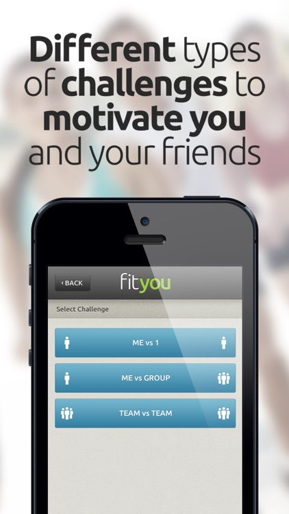 FitYou - Fitness Game and Activity Tracker screenshot-3