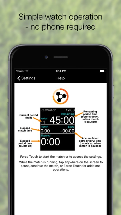 RefWatch - Soccer / Football Referee Watch App screenshot-4