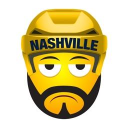 Nashville Hockey Stickers & Emojis