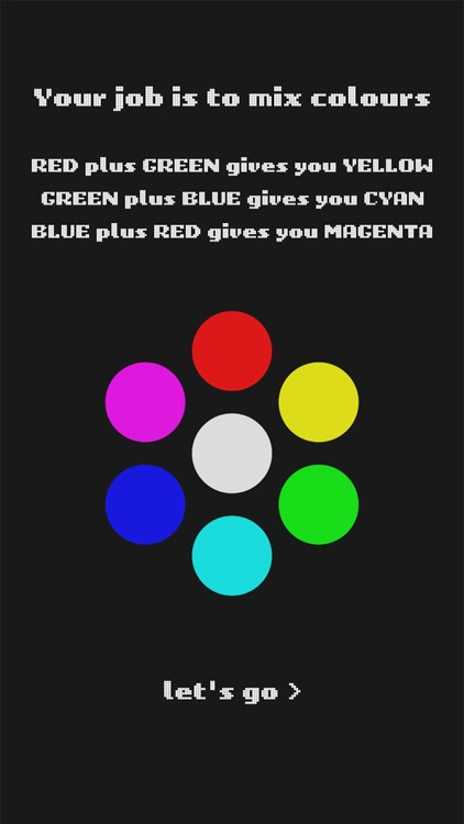 RGB - The color wheel game